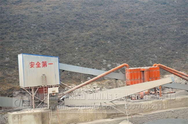 <b>Limestone Production Line</b>