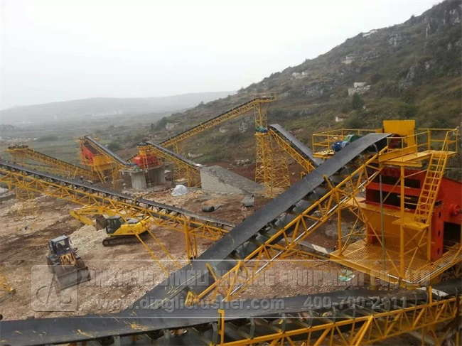 1200TPH Gravel Production Line of Yijian in Guiyang