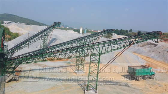 250-320TPH Stone Production Line in Lianhua County
