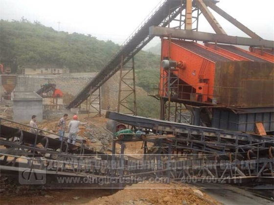 800-1200TPH Cement Crushing Production Line in Guix
