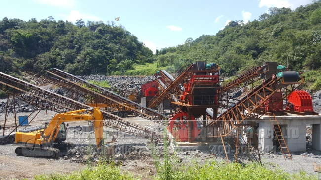 1000TPH Cement Crushing Production Line