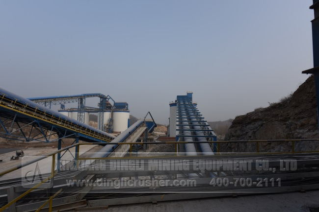 1500TPH Aggregates Production Line of China United