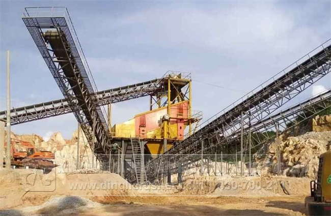 600TPH Stone Plant in Nanning Guangxi