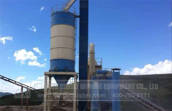 500TPH Stone Production Line in Pingliang Gansu