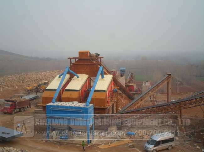 Stone Crushing Plant in Hua