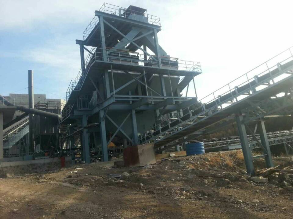 1200TPH Aggregates Production Line of Shuaibao Plan
