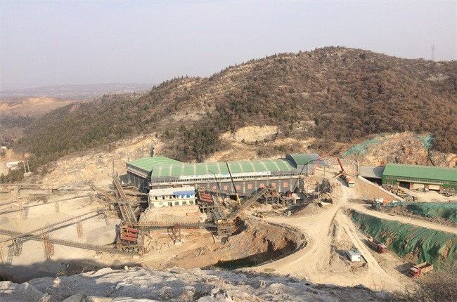Stone Production Line in Chenxia Industrial of Zhen