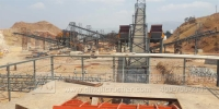 1500TPH Stone Production Line Installation Sites in