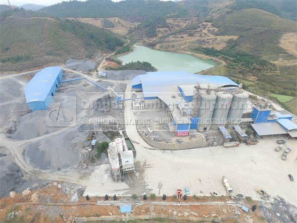 500TPH Sand Making Producti