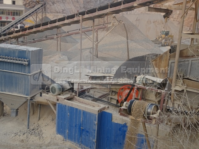250TPH Stone Production Lin
