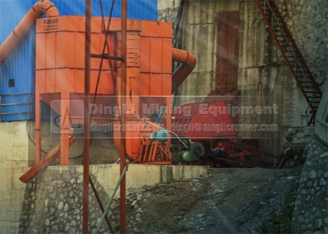 Stone Crusher Plant of Yuanda Mining in Hubei