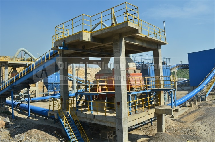aggregates production line for cement production