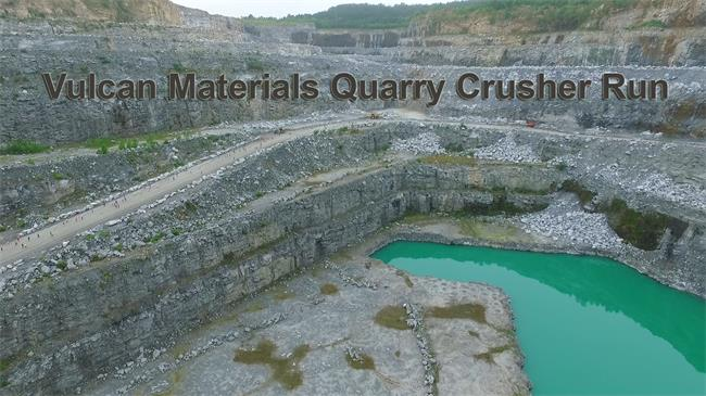 vulcan materials stone quarries